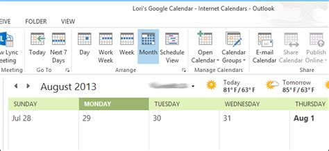 Add Calendar To Outlook 2013 How To View Your Calendars In Outlook 2013