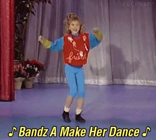 Bands Will Make Her Dance Meme - full house dancing gif find share on giphy