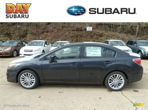 grey subaru 2012 dark gray metallic subaru impreza 2 0i premium 4 door