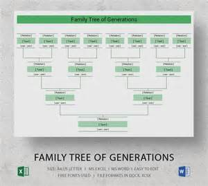 plain family tree template 28 images make a family