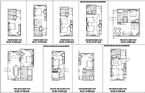 small hotel layout design