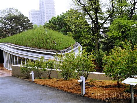 Botanical Garden Center Inhabitat Tours Botanic Garden S New Green Roofed