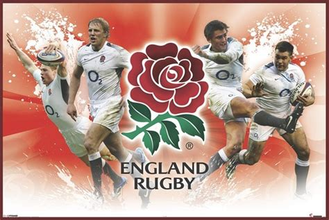 Funny Doormat by England Rugby Players Poster Sold At Europosters