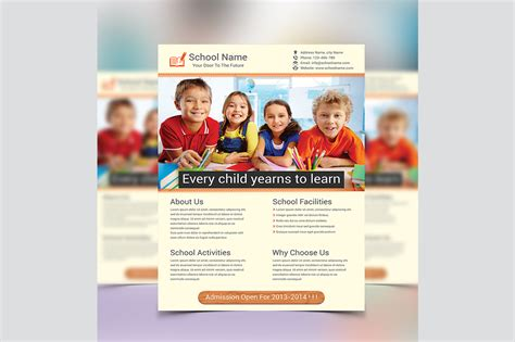education flyer templates school education flyer template flyer templates on