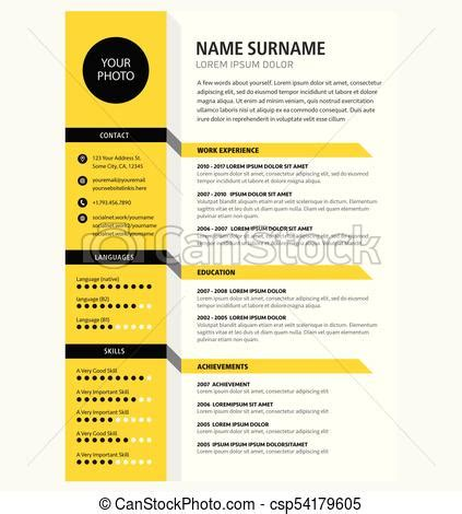 custom resume template color circle initials by rbdesign2 on etsy