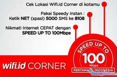 Speedy Instan Wifi Id speedy instan wifi corner 100mbps