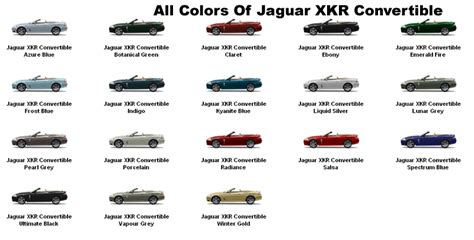 jaguar paint codes jaguar xk car club xkcc a club not a business