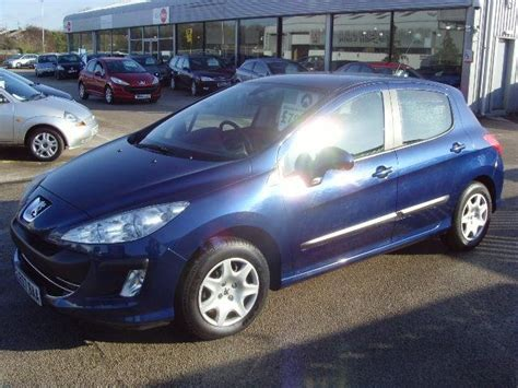 blue peugeot for sale used 2008 peugeot 308 hatchback 1 4 vti s 5dr petrol for