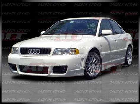 Audi A4 B5 Rs4 Body Kit by Audi A4 B5 Rs4 Style 4pcs Full Bumper Side Skirt Body Kit
