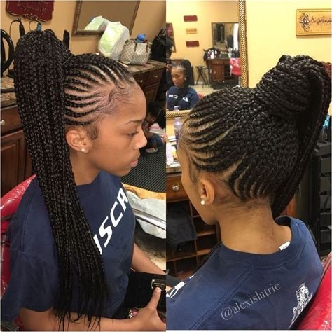 nicki minaj inspired feedin cornrows done by london s pin by treasure edmonds on hair pinterest protective