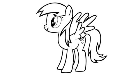 My Little Pony Coloring Pages Derpy | derpy coloring pages coloring home