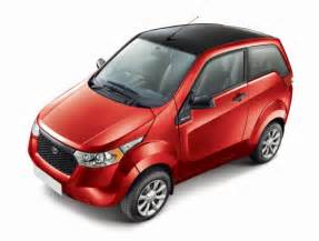 Electric Cars In India With Price Mahindra E2o Electric Minicar Launches In India Nee Reva Nxr