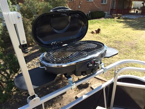 bbq grill for pontoon boat best bbq grill for your pontoon diy xploring america