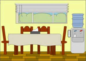 Cartoon Dining Room | diningroom free images at clker com vector clip art