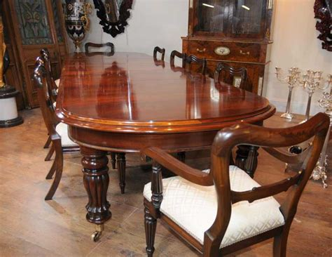 mahogany dining room furniture mahogany victorian dining table chairs set