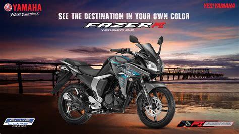 V2 Motorrad Tourer by Yamaha Fazer Fi V 2 0 150cc Tourer Bikes Images Colors