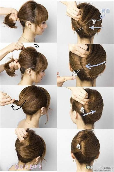 pictures of hairstyles with steps 15 simple step by step hairstyles