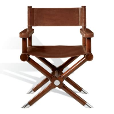 ralph leather directors chair ralph chairs writer s wicker leather director