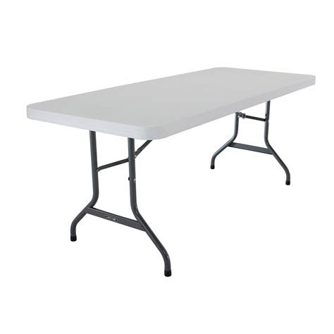 lifetime 6 table lifetime 6 commercial folding table white granite bj