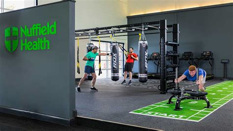 gym  rugby fitness wellbeing nuffield health