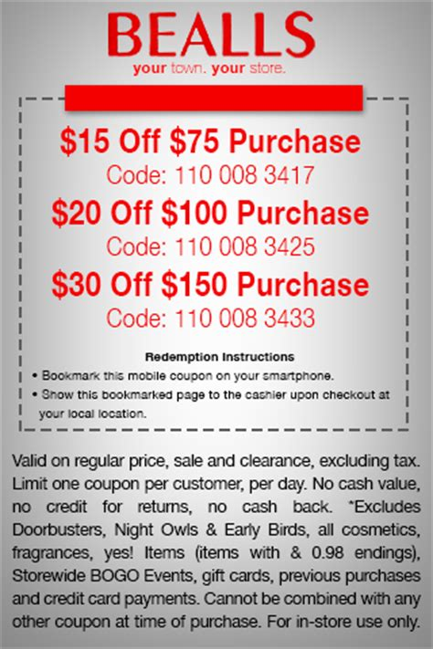 bealls outlet printable coupons 2014 free printable coupons bealls coupons