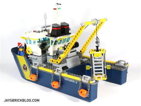 review lego 60095 deep sea exploration vessel - Lego Boat Deep Sea