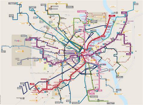 transport for map bordeaux transport map