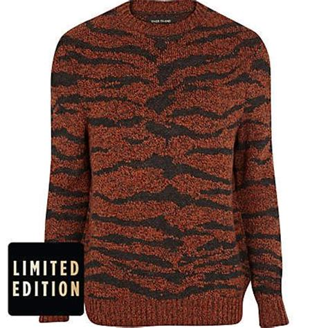 tiger pattern jumper sweater cardigan tiger print and jumpers on pinterest