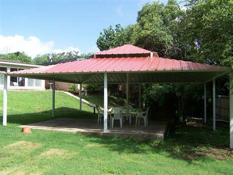 backyard san antonio backyard all steel custom pavilion west san antonio