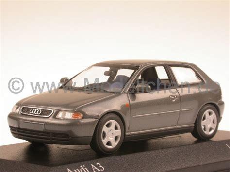 Modellauto Audi A3 by Audi A3 1995 Grau Modellauto Minichs 1 43