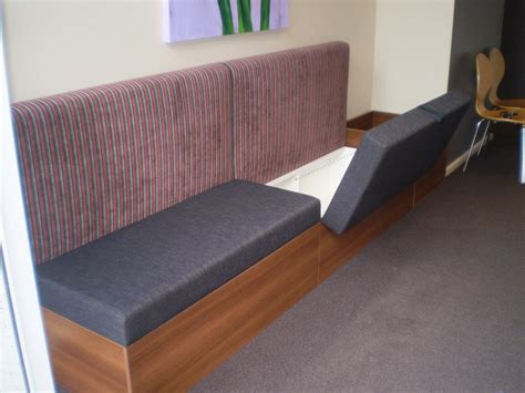 banquette furniture with storage storage ideas storage banquette seating for businesses