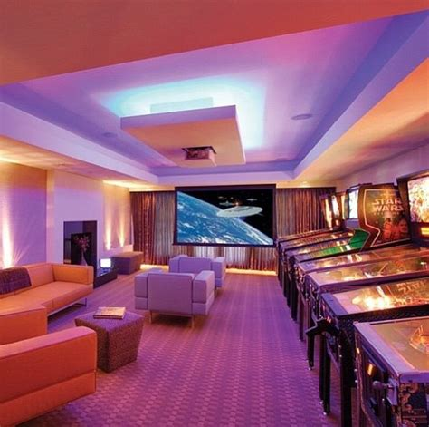 Cool Rooms In Houses Cool Arcade Room Want House And Rooms