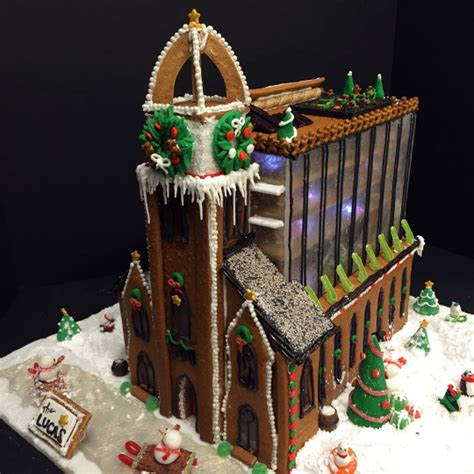 see a gingerbread three decker at bsa space boston magazine this is what boston landmarks would look like if they were