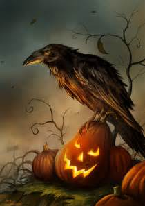 halloween ravens and crows halloween raven by jerry8448 on deviantart