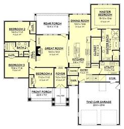 craftsman style open floor plans top 25 best craftsman house plans ideas on pinterest