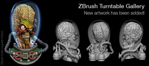 zbrush turntable tutorial pixologic zbrush blog 187 new artwork in the turntable gallery