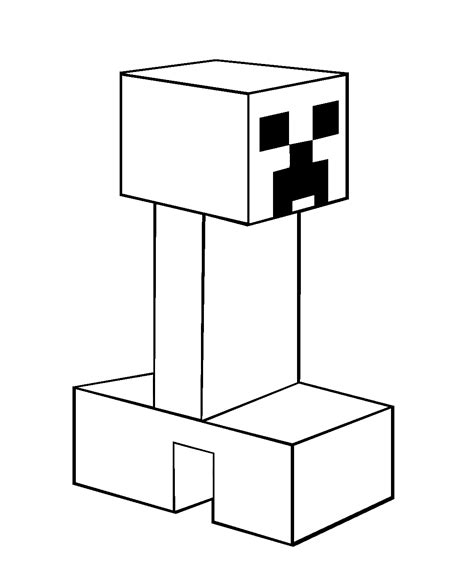 minecraft coloring pages creeper face minecraft creeper coloring pages coloring kids
