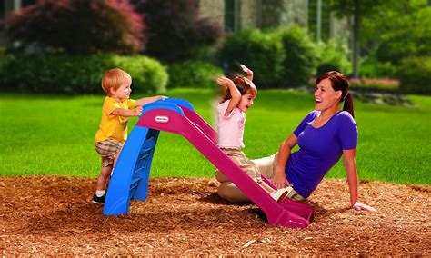 new little tikes first outdoor slide kids indoor toddler