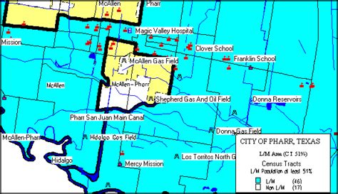 map of pharr texas pharr consolidated plan executive summary