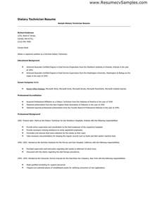 make an entry level dietary aide resume esle resume