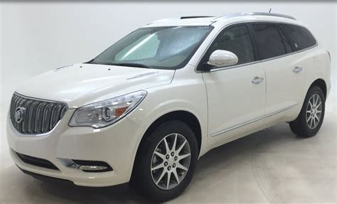 white buick enclave buick enclave redesign 2014 image 283