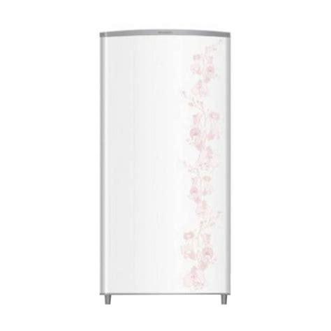 Dan Spesifikasi Kulkas Sharp Kirei 1 Pintu jual sharp sj m165f fw kirei flower white kulkas 1 pintu