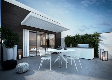 outdoor entertaining area 4 contemporary home visualizations with sleek sophistication