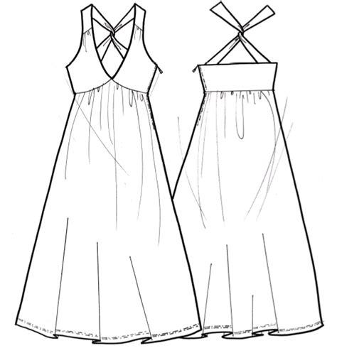 imagenes para colorear vestido vestidos para colorear para ni 241 os con cabeza