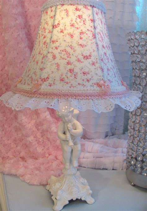 details about 7 quot lamp shade r ashwell blue pink roses