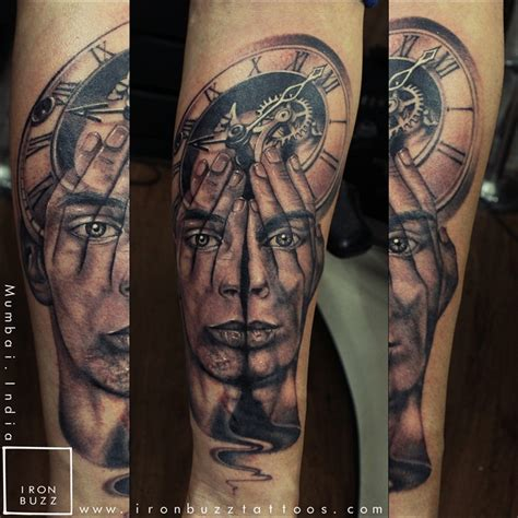 clock face tattoo designs 15 best forearm tattoos done at iron buzz tattoos mumbai