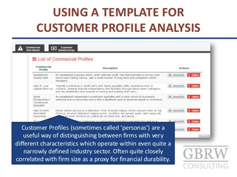 Customer Credit Analysis Template Expert Judgement Credit Rating For Sme Commercial Customers