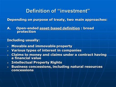 international investment agreements key issues and