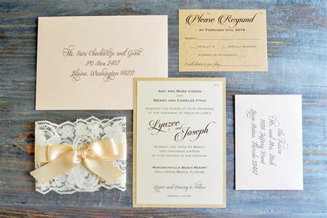 Wedding Invitations How To by How To Address Wedding Invitation Envelopes Paper Lace