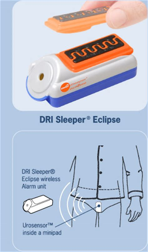 Dri Sleeper Bedwetting Alarm by Dri Sleeper Eclipse Replacement Sensor Sports